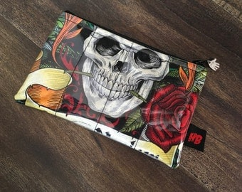 Handmade Carpe Noctem Change Purse