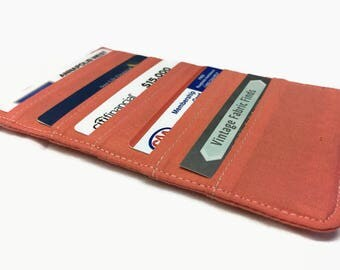 10 slot Credit Card Holder, Card Holder, Business Card Holder, Loyalty Card case, Women's wallet organizer