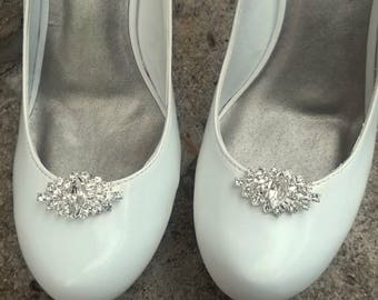 Wedding Shoe Clips, Bridal Shoe Clips, Rhinestone Shoe Clips, Clips for Wedding Shoes, Bridal Shoes, Gifts for Her, Wedding Accessories