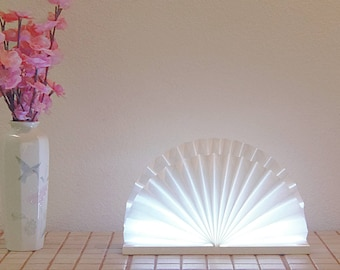 SEASHELL LED Accent, Table, Night Light Lamp