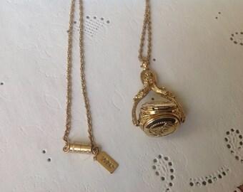 1928 Co. Triple Locket Necklace,