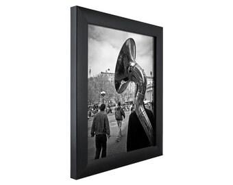 craig frames 24x32 inch modern black picture frame contemporary 1 wide 1wb3bk2432