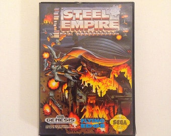 Steel Empire Sega Genesis