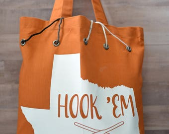 University of Texas Yarn Tote
