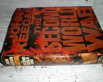 The Second World War By John Keegan Hardback Book *First American Edition* Maps Photos