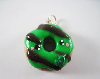 Kawaii Donut Doughnut Baker Necklace Bracelet Charm Polymer Clay Jewelry Lolita Asian Fashion Accessory
