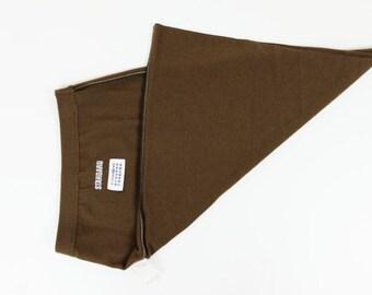 MASION MARGIELA Standard Olive Green Wool Skirt Dead-stock