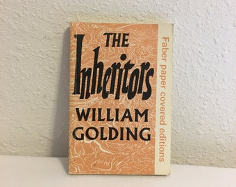 The Inheritors, William Golding, Faber Paper Covered Edition, 1973