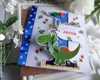 Cute Dinosaur Birthday Card!