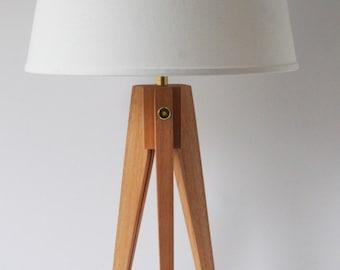 Table Lamp Tripod Slim - Red Grandis