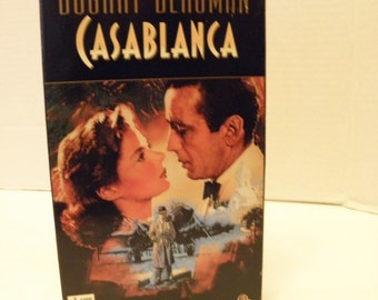 Casablanca VHS Video Tape B/W Pre-owned
