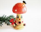 Lovely Miniature Smoker Incense Smoker Fly Agaric Toadstool Mushroom Burner + 1 FREE Box Mini German Incense Cones