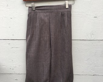 Sable brown knicker pants, Size 1-3yrs or 4-6 yrs little boys knicker pants, ring bearer knicker pants