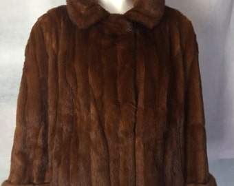 SALE! 1950s Canadian red squirrel jacket
