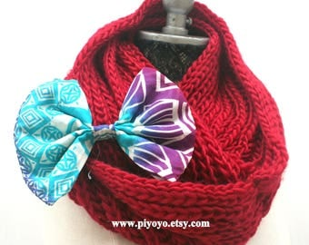 Red knit infinity scarves, red knit scarf, knit scarfs scarf stocking, handmade gift ideas, winter knitted items, most popular items, PiYOYO