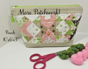 More Patchwork! Pouch