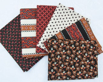 Fat Quarter bundle of 6 - Bramblewood Collection 2from Moda