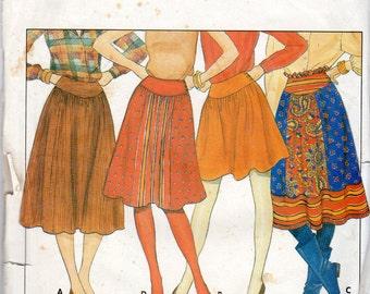 Women's Skirt Pattern - Size 12, 14, 16 - Butterick 4476 uncut