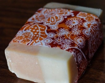 Orange Dreamy - Handcrafted Bar Soap - with essential oils and natural base ingredients