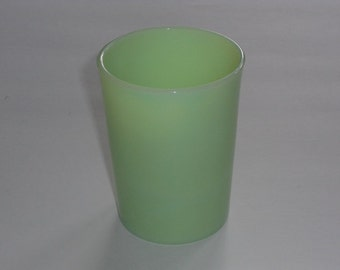 Vintage McKee Jadeite Straight Side Tumbler Juice Glass