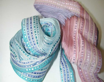 No. 700 Lot of Wired & Pleated Ribbons from Germany  (LOT 21)
