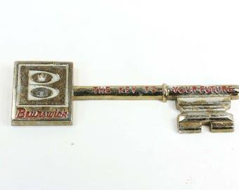 Vintage Brunswick Bowling Key to Your Future