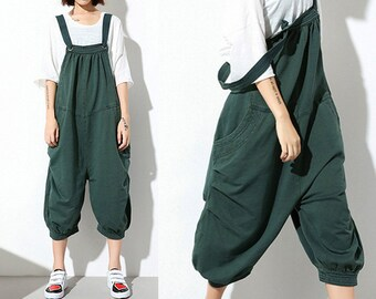 Women Jumpsuits Sexy Jumpsuit Cute Jumpsuit Linen Pants #J701