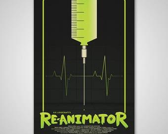 Re-Animator   16x24   Screen Print