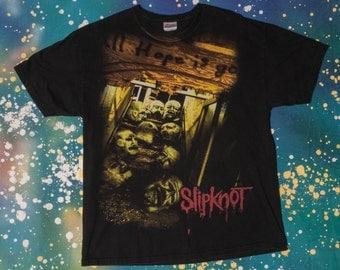 Slipknot Nu Metal Rock T-Shirt Size XL