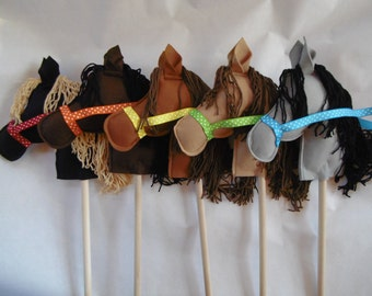 Hobby Horse, Stick Ponies, Stick Pony, Stick Horse, Stick Horses, Horse Party Favors, Cowboy Party,Party Horses, Child's Stick Horse or Pony