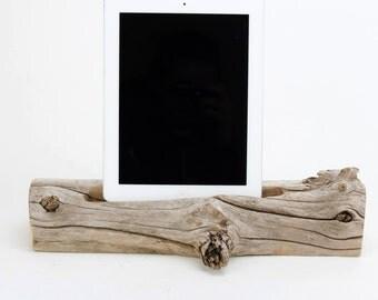 Docking Station, Driftwood iPad dock, iPad Charger, iPad Charging Station, driftwood ipad dock, wood ipad dock/ Driftwood- No. 929