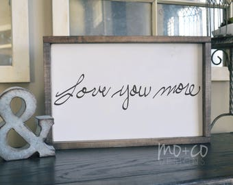 YOUR Handwriting Personalized Wood Sign, Wood Painted Sign, Real Handwriting, Wood Wall Hanging, Framed Wood Decor, In Memory Of
