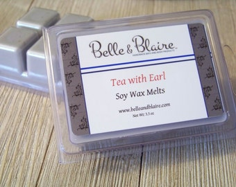 Tea with Earl- Soy Tarts- Scented Wax Melts