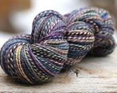 """Handspun Worsted Weight Polwarth """"Slow Hands""""--198 yds."""