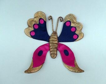 Butterfly puppet