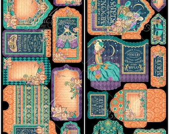 """Sale-Graphic 45 """"Midnight Masquerade"""" Tags & Pockets"""