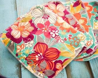 Cloth un-paper towels - reusable napkins - Paper towel alternative - unpaper - cloth napkins - environmentally friendly - eco earth cloths