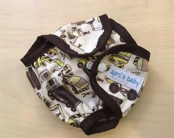 Newborn PUL waterproof cloth diaper cover - dig it