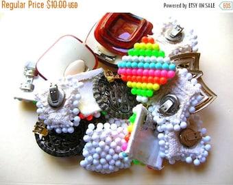 Mixed Lot of Shoe Clips - Shoe Clip Destash - Junk Lot