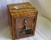 Post office lock box bank, # 1 size
