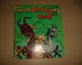 1954 Three Billy Goats Gruff  Children's Literature Tell a tale Book Illustrated Whitman Book