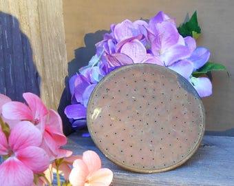 Brass Shower End - Vintage Hose Watering Sprinkler Head for Wand, Can