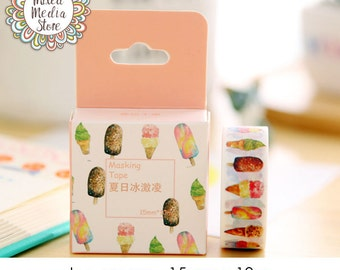 Ice Cream Washi Tape - So pretty for your planner & art journal pages!