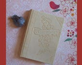 Charming Vintage Birthday Record Keepingbook Compiled By I.B. Stolee 1942