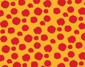Tabby Road - Tula Pink - Fur Ball - Strawberry Tangerine