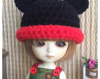 "Lati Yellow Outfit : ""Mickey Hat"" (Crochet Hat)"