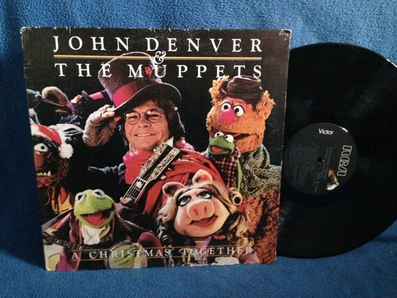 Rare Vintage John Denver Amp The Muppets A Christmas