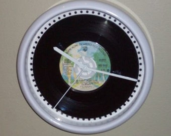 Debby Boone record wall clock You light up my life