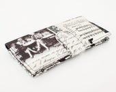 Women's Wallet, Travel Wallet Organizer, Paris Clutch Wallet, Credit Card Wallet, Smartphone Wallet, Large Wallet - vintage Paris collage