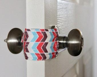 Cozy Arrow Door Silencer, Door Jammer, Nursery Door Silencer, Door cushion, Door latch cover, baby shower gift, PATENTED LATCHY CATCHY